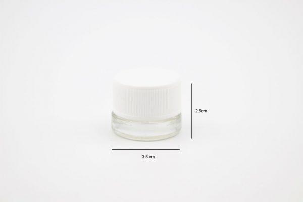 2101 5ml glass jar 2